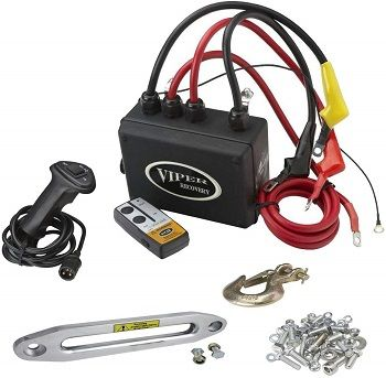 VIPER 12000lb with STEEL Cable includes wireless remote and 2 inch Receiver Cradle